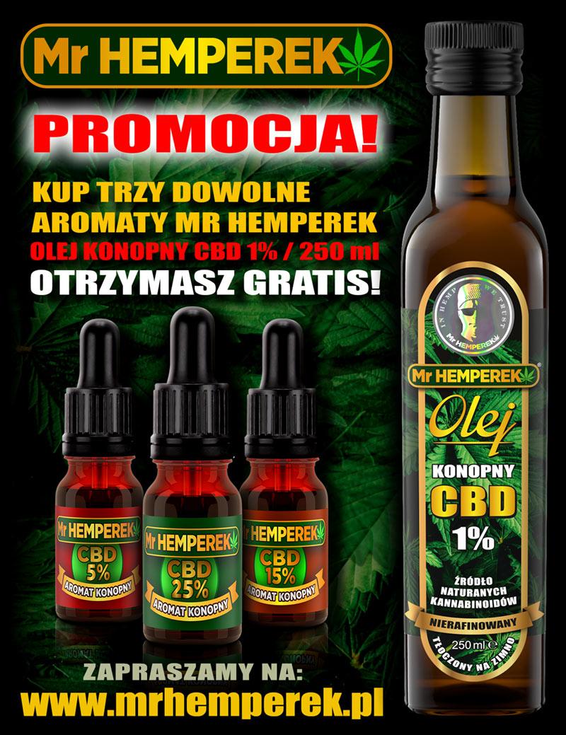 promocja 3 olej cbd